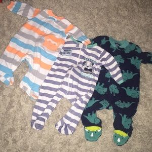 Bundle of baby Footies